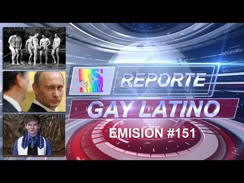 Atletas al desnudos 2014/ Vladimir Putin es gay?/ Bar Mitvah friendly (Reporte Gay Latino #151)