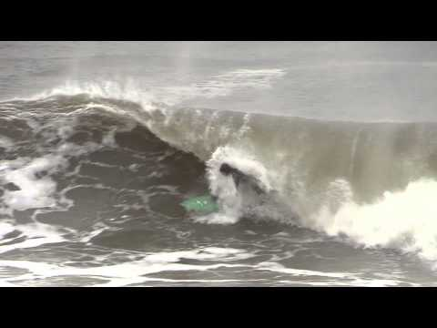 Surfing Bayhead NJ Thanksgiving 2013