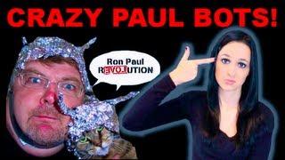 Mob Of Ron Paul Bots Send Death Threats!