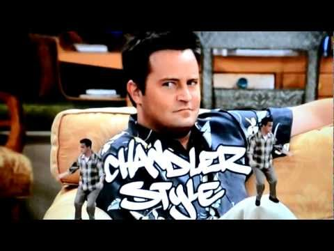 Chandler Dancing on Things
