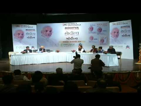 Shri Rajnath Singh launches 'Moditva -- the Idea behind the Man' in Delhi