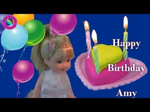 💑Cuộc Sống Búp Bê Barbie & Ken (tập 23) Sinh Nhật Của Amy 👰 Barbie Ken's Life Barbie's Kid Birthday