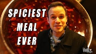 """Eating The Spiciest Meal Ever at """"Painful Heat"""" 