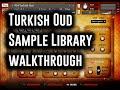 Plectra Series 4: Turkish Oud - Screencast & Walkthrough by Andrew Aversa - Kontakt Library