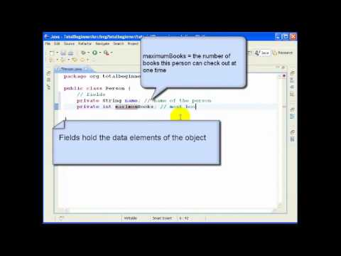 Eclipse and Java for Total Beginners - Lesson 1 - YouTube