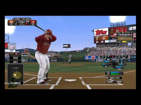MLB 14: The Show - Player Lock with Mike Trout