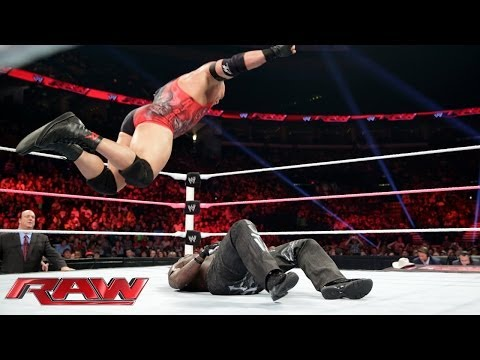 R-Truth vs. Ryback - Beat the Clock Match: Raw, Oct. 14, 2013
