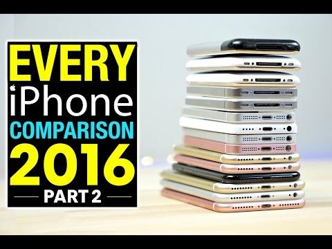 Тестирање на брзината на сите 15 iPhone-и произведени до сега
