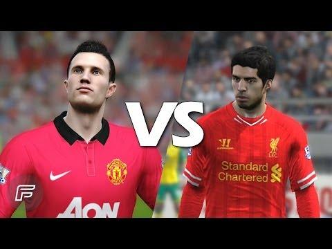 Robin Van Persie Vs Luis Suárez (FIFA 14 Battle)