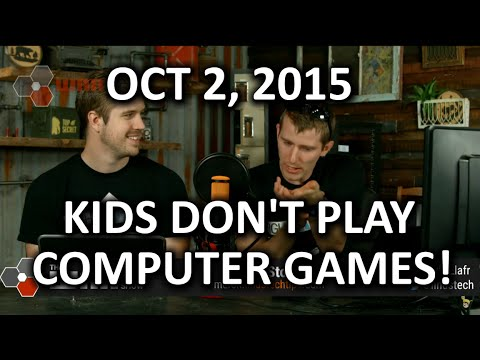 The WAN Show - Kids Don't Play Enough Compute…