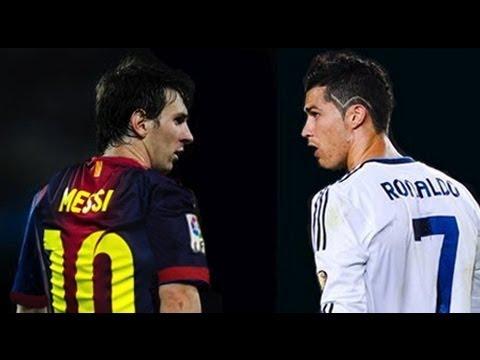 Lionel Messi vs Cristiano Ronaldo,