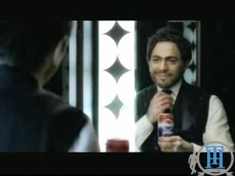 تامر حسنى إعلان بيبسى الجديد 2009