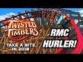Kings Dominion Announces Twisted Timbers Coaster Winterfest