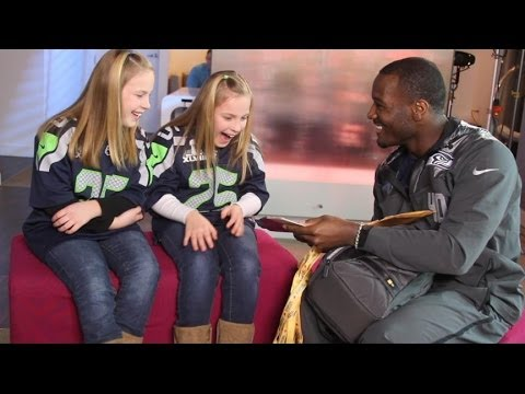 Super Bowl 2014: Seattle Seahawks' Derrick Coleman Makes Fans' Dream Come True