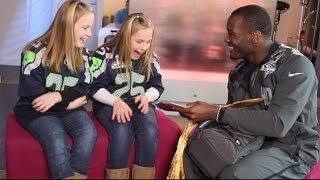 Super Bowl 2014: Seattle Seahawks' Derrick Coleman Makes