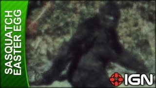 Assassin's Creed 3 Sasquatch Easter Egg