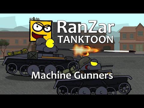 Tanktoon - Kulometčíci