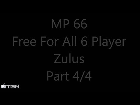 MP 066 Part 4/4:Zulus (Civilization V Brave New World 6 Player Free For All) Gameplay/Commentary