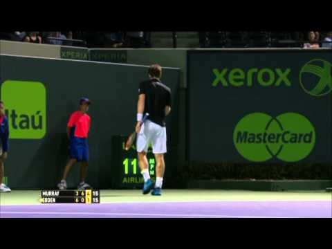 Miami 2014 Friday Hot Shot Murray