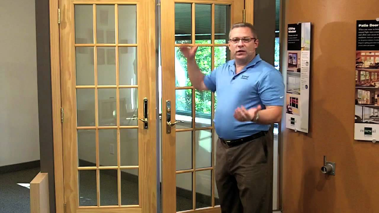 French Doors Locking System Youtube