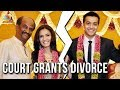 Rajinikanth daughter Soundarya gets divorce from Ashwin..