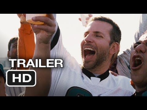Silver Linings Playbook Official Trailer #2 (2012) Bradley Cooper, Jennifer Lawrence Movie HD
