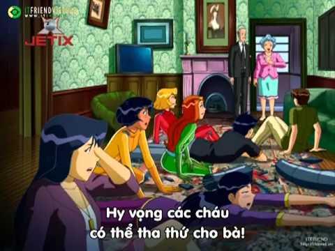 Totally Spies - Phim Hoạt hình ba nữ thám tử Phần 5 tập 26 Totally Dunzo Part 2