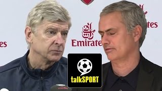 Wenger And Mourinho Funny Press Conference Argument* - Duration: 1:37.