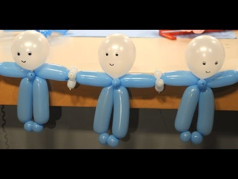 Decoración con globos para Baby Shower - Maricel Merigo