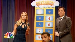 Charades with Scarlett Johansson and Drake