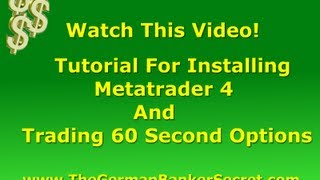 Metatrader 4 Installation Demo And Tutorial For Trading 60