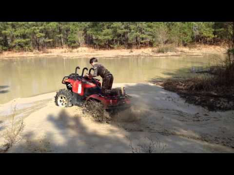 Arctic cat water wheelie