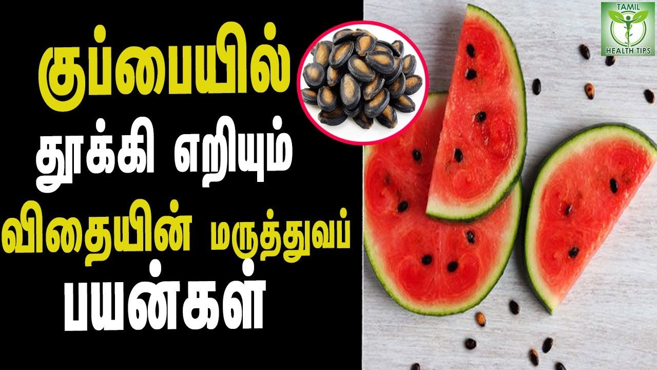 Watermelon Seeds Health Benefits - Tamil Health & beauty Tips