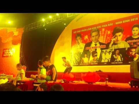 Ca sĩ Nam Dương (ITV) tại hội chợ Ninh Bình part 1