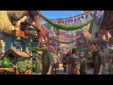 Tangled -  Kingdom Dance Scene 1080p