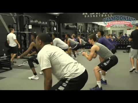 Open Practice: Strength Training & Conditioning Drills - Bruce Weber