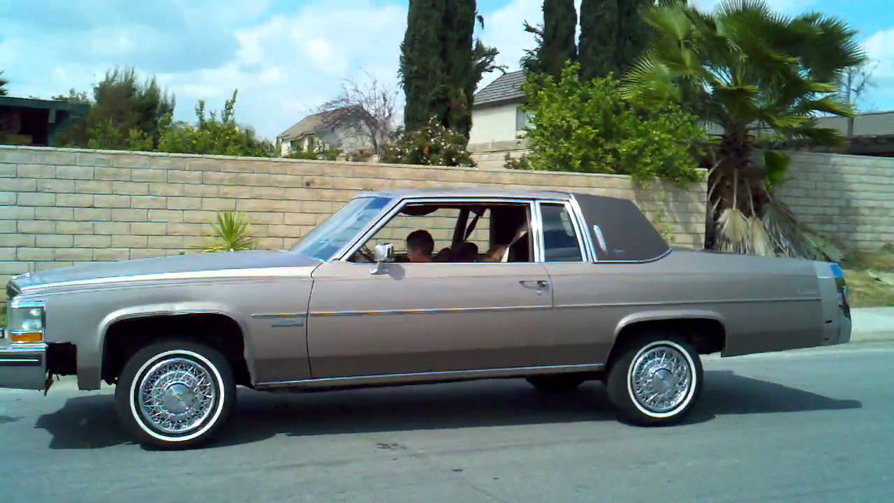 83 caddy coupe deville 8 yr old hitting switches youtube. Black Bedroom Furniture Sets. Home Design Ideas