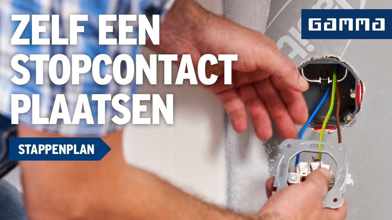 Keuken Stopcontacten : Stopcontact plaatsen in Keuken – Elektriciteit – Klustips GAMMA