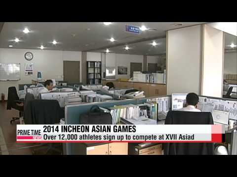 Incheon Asian Games: About 14,000 athletes expected to compete