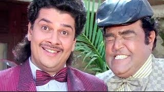 Viju Khote and Shehzad Khan Best Comedy From - Andaz Apna Apna