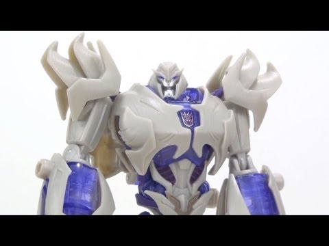 Video Review of the Transformers Prime (RiD) Voyager Class: Megatron