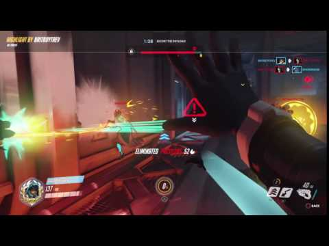 Overwatch: Tracer gameplay