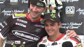 AMA Pro Motorcycle-Superstore.com Supersport podium - Stefano Mesa