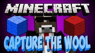 "Minecraft ""TANK ATTACK!"" CAPTURE THE WOOL Server Minigame"
