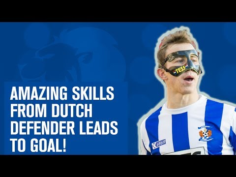 Masked star shows unbelievable skills to set up amazing goal!