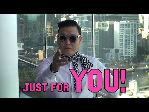 PSY - Doing Gangnam Shake
