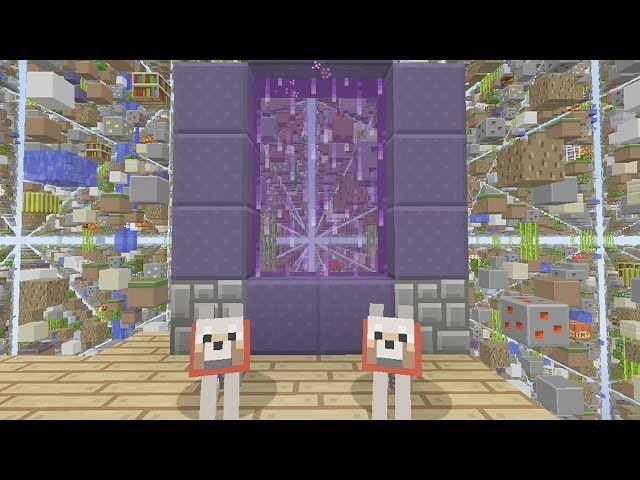how to make end portal xbox 360