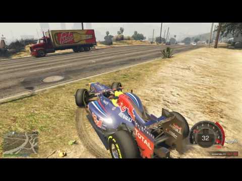 Siêu Xe Trong GTA V Tập 23 | Red Bull F1 Đi Dạo Phố Khiến Mọi Người Khiếp Sợ
