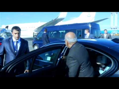 President Jacob Zuma arrives in Russia for the G20 Leaders Summit