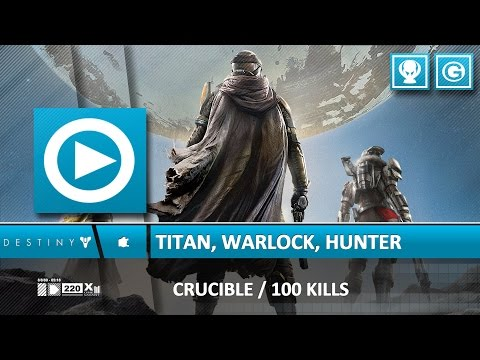 Destiny - Hunter Killer, Giant Slayer, Witch Hunt Trophy Guide / Achievement Guide (THE VAULT)